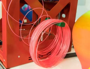 3D printer filament extruder