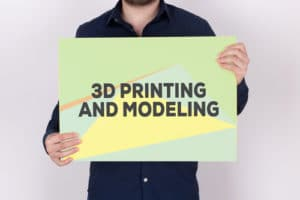 3d printing modeling