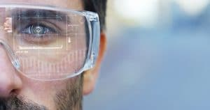 Augmented reality headset integreert met 3D printing