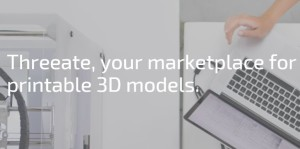 Vind 3D prints en 3D modellen op Threeate
